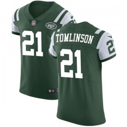 Elite Men's LaDainian Tomlinson New York Jets Nike Team Color Vapor Untouchable Jersey - Green