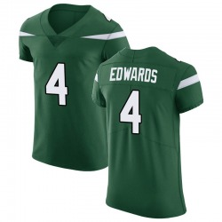 Elite Men's Lachlan Edwards New York Jets Nike Vapor Untouchable Jersey - Gotham Green