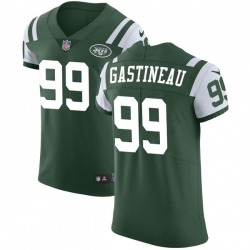 Elite Men's Mark Gastineau New York Jets Nike Team Color Vapor Untouchable Jersey - Green