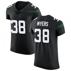 Elite Men's Marko Myers New York Jets Nike Vapor Untouchable Jersey - Stealth Black