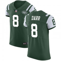 Elite Men's Matt Darr New York Jets Nike Team Color Vapor Untouchable Jersey - Green