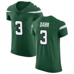 Elite Men's Matt Darr New York Jets Nike Vapor Untouchable Jersey - Gotham Green