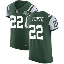 Elite Men's Matt Forte New York Jets Nike Team Color Vapor Untouchable Jersey - Green