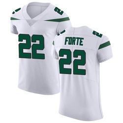 Elite Men's Matt Forte New York Jets Nike Vapor Untouchable Jersey - Spotlight White