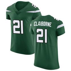 Elite Men's Morris Claiborne New York Jets Nike Vapor Untouchable Jersey - Gotham Green