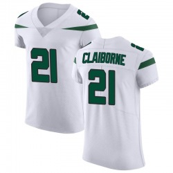 Elite Men's Morris Claiborne New York Jets Nike Vapor Untouchable Jersey - Spotlight White