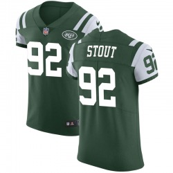 Elite Men's MyQuon Stout New York Jets Nike Team Color Vapor Untouchable Jersey - Green