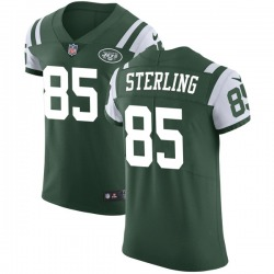 Elite Men's Neal Sterling New York Jets Nike Team Color Vapor Untouchable Jersey - Green