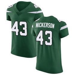 Elite Men's Parry Nickerson New York Jets Nike Vapor Untouchable Jersey - Gotham Green