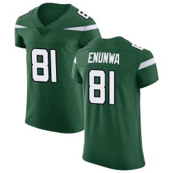 Elite Men's Quincy Enunwa New York Jets Nike Vapor Untouchable Jersey - Gotham Green
