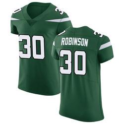 Elite Men's Rashard Robinson New York Jets Nike Vapor Untouchable Jersey - Gotham Green