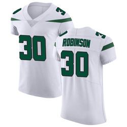 Elite Men's Rashard Robinson New York Jets Nike Vapor Untouchable Jersey - Spotlight White