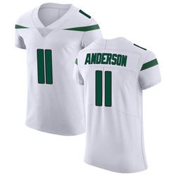 Elite Men's Robby Anderson New York Jets Nike Vapor Untouchable Jersey - Spotlight White