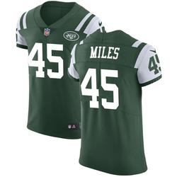 Elite Men's Rontez Miles New York Jets Nike Team Color Vapor Untouchable Jersey - Green