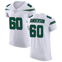 Elite Men's Ryan Anderson New York Jets Nike Vapor Untouchable Jersey - Spotlight White