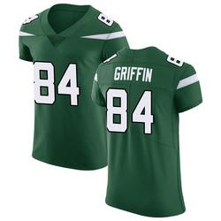 Elite Men's Ryan Griffin New York Jets Nike Vapor Untouchable Jersey - Gotham Green
