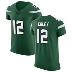 Elite Men's Stacy Coley New York Jets Nike Vapor Untouchable Jersey - Gotham Green