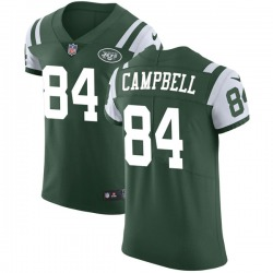 Elite Men's Tevaughn Campbell New York Jets Nike Team Color Vapor Untouchable Jersey - Green