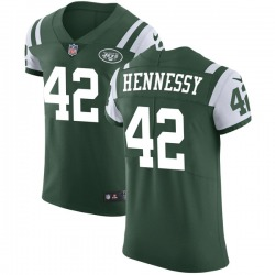 Elite Men's Thomas Hennessy New York Jets Nike Team Color Vapor Untouchable Jersey - Green