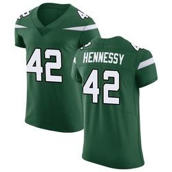 Elite Men's Thomas Hennessy New York Jets Nike Vapor Untouchable Jersey - Gotham Green