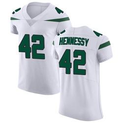 Elite Men's Thomas Hennessy New York Jets Nike Vapor Untouchable Jersey - Spotlight White