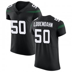 Elite Men's Toa Lobendahn New York Jets Nike Vapor Untouchable Jersey - Stealth Black