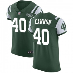 Elite Men's Trenton Cannon New York Jets Nike Team Color Vapor Untouchable Jersey - Green