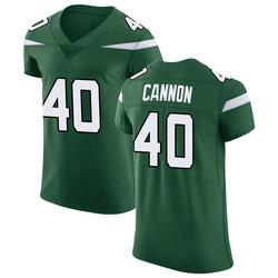 Elite Men's Trenton Cannon New York Jets Nike Vapor Untouchable Jersey - Gotham Green