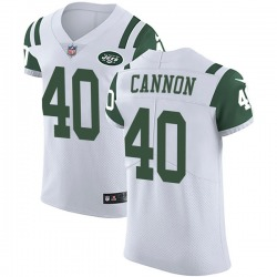 Elite Men's Trenton Cannon New York Jets Nike Vapor Untouchable Jersey - White