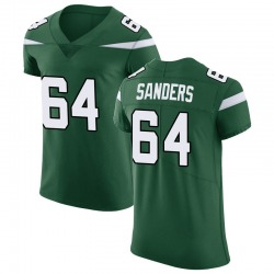 Elite Men's Trevon Sanders New York Jets Nike Vapor Untouchable Jersey - Gotham Green