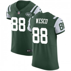 Elite Men's Trevon Wesco New York Jets Nike Team Color Vapor Untouchable Jersey - Green