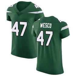 Elite Men's Trevon Wesco New York Jets Nike Vapor Untouchable Jersey - Gotham Green