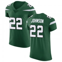 Elite Men's Trumaine Johnson New York Jets Nike Vapor Untouchable Jersey - Gotham Green