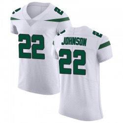 Elite Men's Trumaine Johnson New York Jets Nike Vapor Untouchable Jersey - Spotlight White