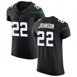 Elite Men's Trumaine Johnson New York Jets Nike Vapor Untouchable Jersey - Stealth Black
