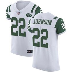 Elite Men's Trumaine Johnson New York Jets Nike Vapor Untouchable Jersey - White