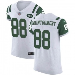 Elite Men's Ty Montgomery New York Jets Nike Vapor Untouchable Jersey - White