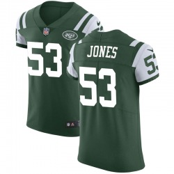 Elite Men's Tyler Jones New York Jets Nike Team Color Vapor Untouchable Jersey - Green