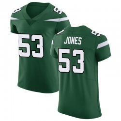 Elite Men's Tyler Jones New York Jets Nike Vapor Untouchable Jersey - Gotham Green