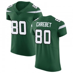 Elite Men's Wayne Chrebet New York Jets Nike Vapor Untouchable Jersey - Gotham Green