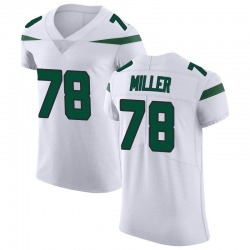 Elite Men's Wyatt Miller New York Jets Nike Vapor Untouchable Jersey - Spotlight White