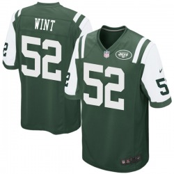 Game Men's Anthony Wint New York Jets Nike Team Color Jersey - Green