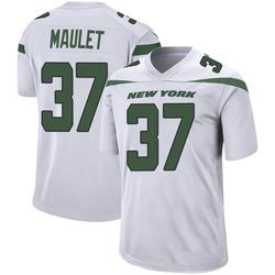 Game Men's Arthur Maulet New York Jets Nike Jersey - Spotlight White