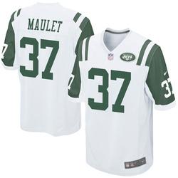 Game Men's Arthur Maulet New York Jets Nike Jersey - White