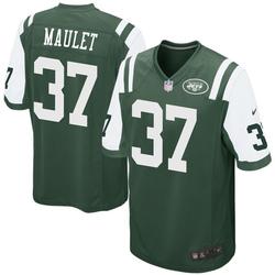 Game Men's Arthur Maulet New York Jets Nike Team Color Jersey - Green