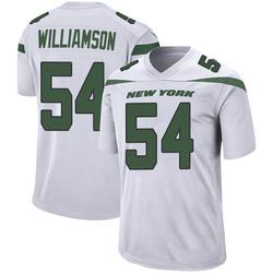 Game Men's Avery Williamson New York Jets Nike Jersey - Spotlight White