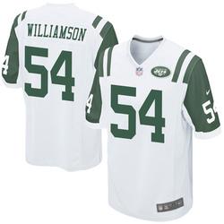 Game Men's Avery Williamson New York Jets Nike Jersey - White