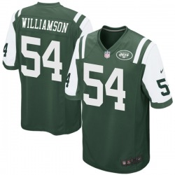 Game Men's Avery Williamson New York Jets Nike Team Color Jersey - Green