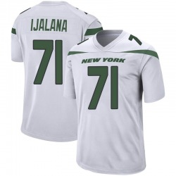 Game Men's Ben Ijalana New York Jets Nike Jersey - Spotlight White