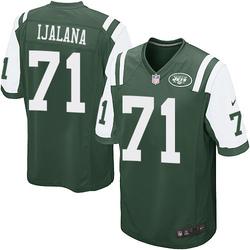 Game Men's Ben Ijalana New York Jets Nike Team Color Jersey - Green